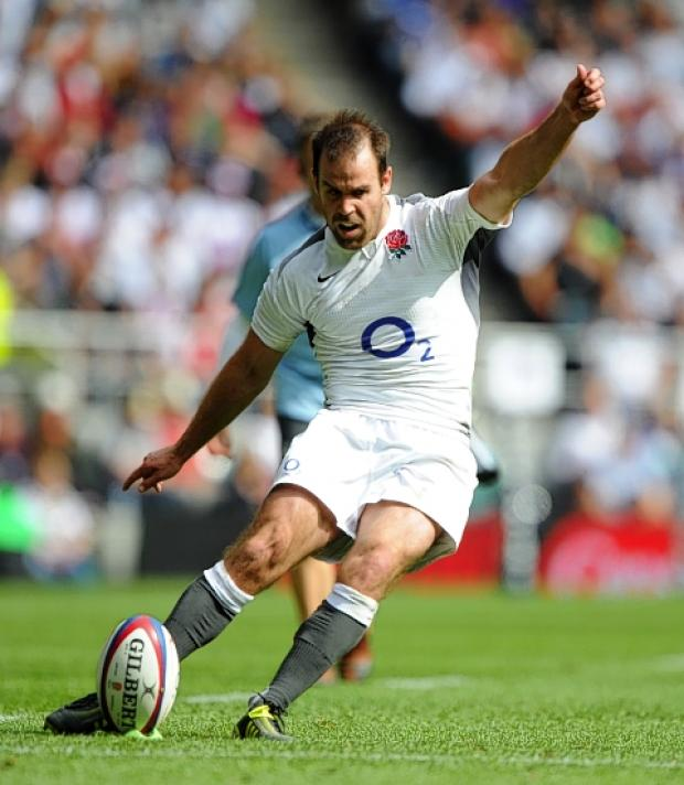 Charlie Hodgson has retired from international rugby: Action Images