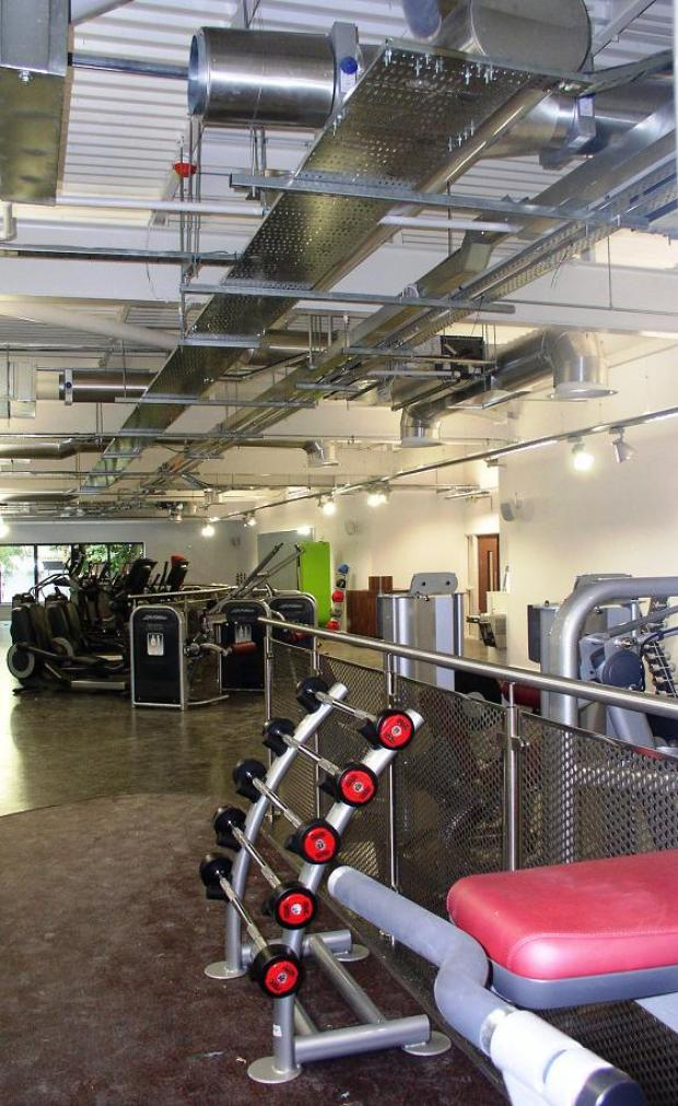 Albany's newly refurbished gym