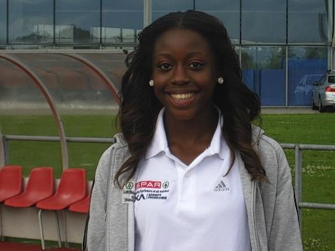 Desire Henry won silver at the 2013 European Junior Championships.