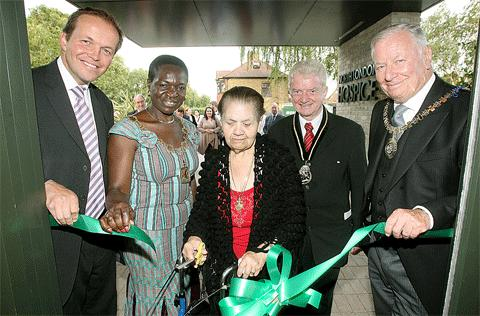 The Enfield hospice was officially opened in September