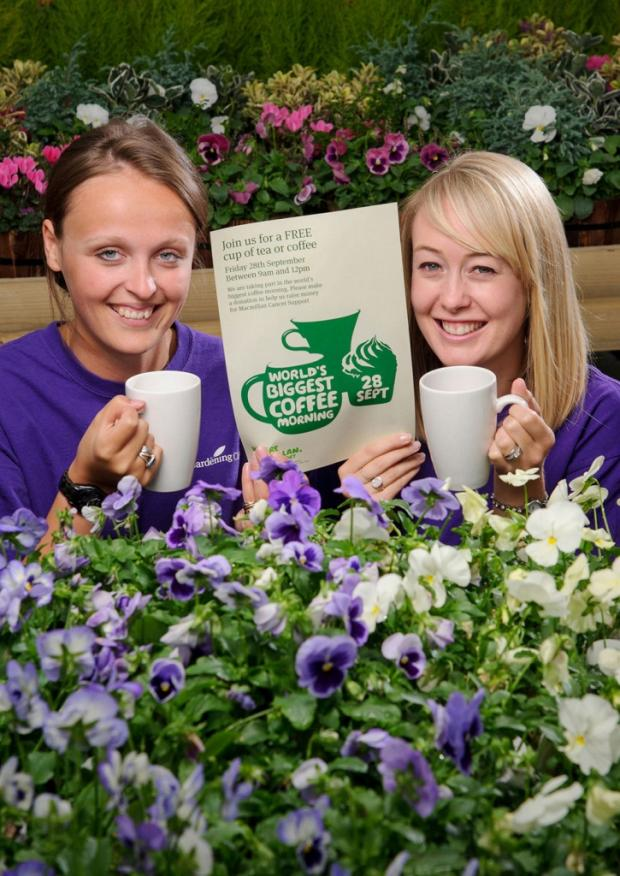Garden centre to hold charity coffee morning