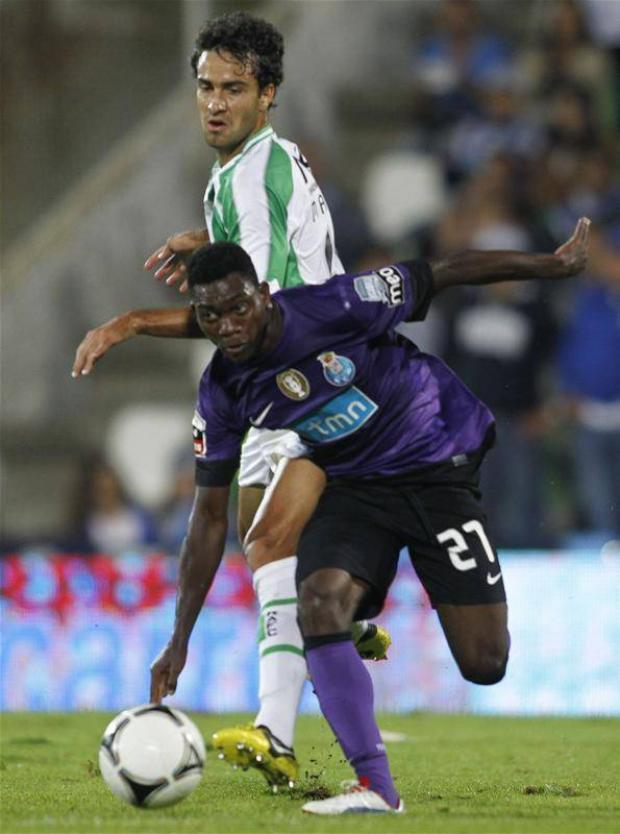 Atsu played for Andre Villas-Boas at Porto