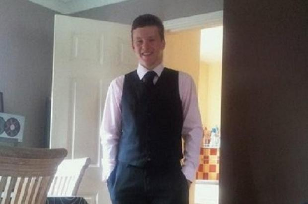 Liam Bradshaw, 17, remains in a coma after the crash more than a month ago