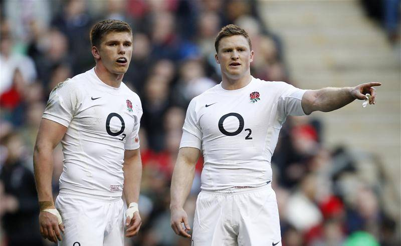 Chris Ashton and Owen Farrell are both in the England side this weekend: Action Images