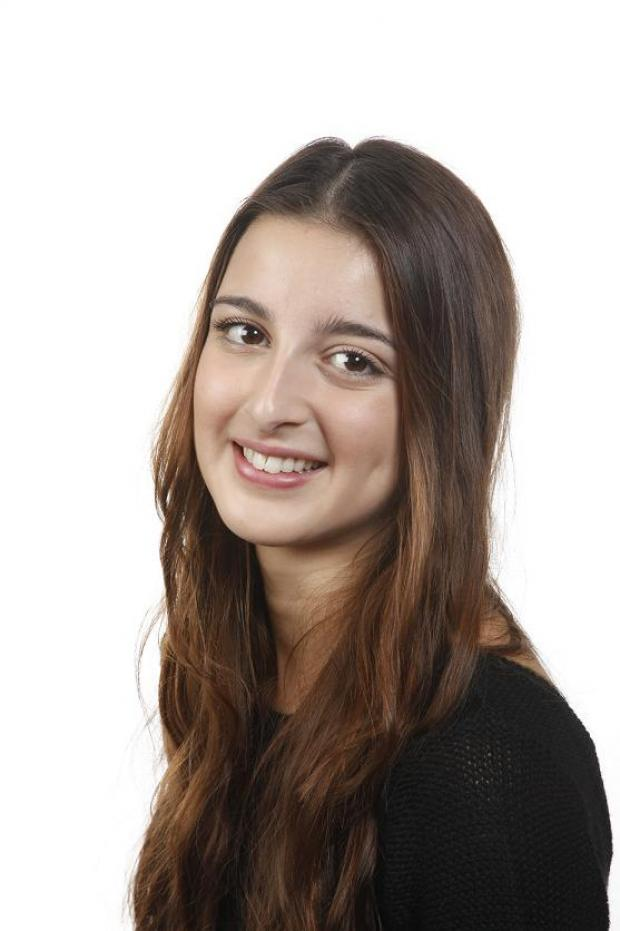 Philosophy student Simona Angelini received the highest result in her subject