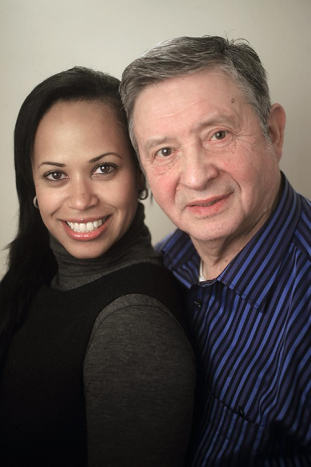 Valerie Henry and Lou Sidoli