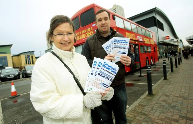 Health bus parks up at start of two week tour