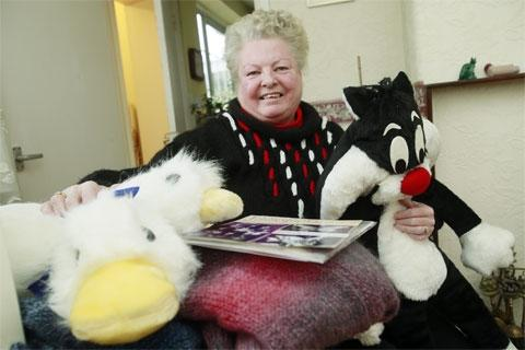 Enfield Independent: Kathleen Hewitt with her growing collection of bric-a-brac
