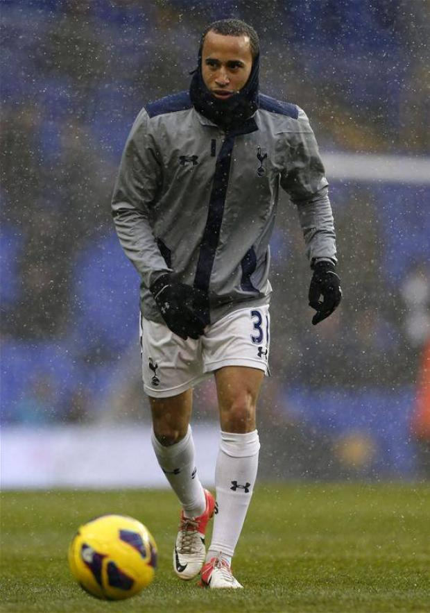 Out in the cold: Townsend has struggled to establish himself in the Spurs first team (Picture: Action Images)