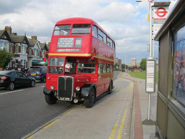 A similar bus will tour Enfield on Saturday
