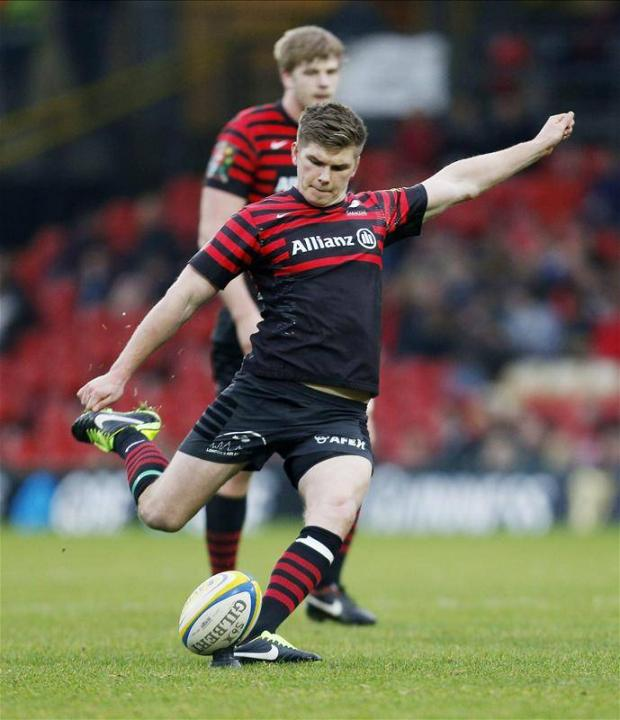 Farrell notched 22 individual points against Sale Sharks in January