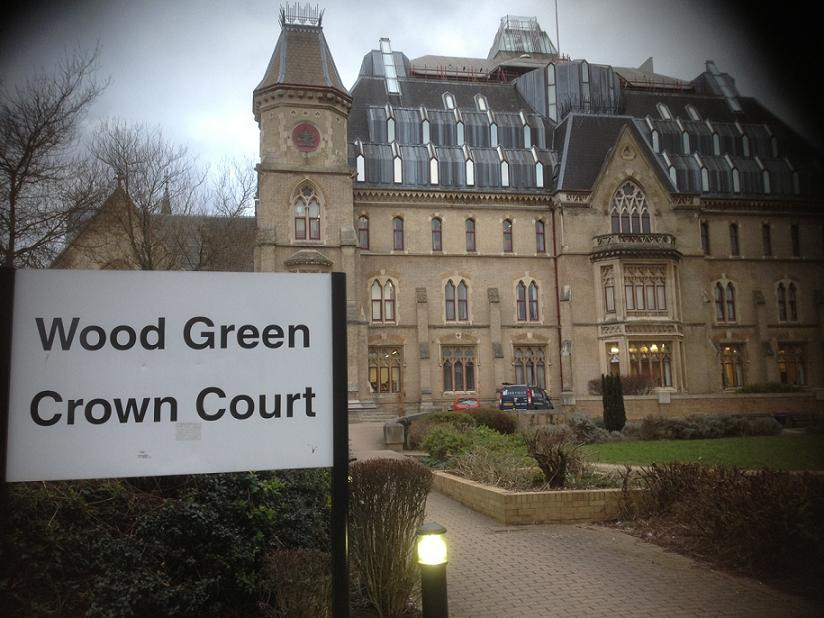 The suspect appeared at Wood Green Crown Court today