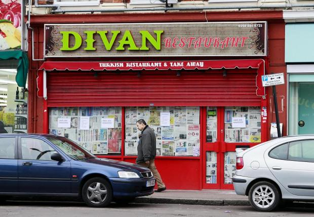 Divan Restaurant in Hertford Road