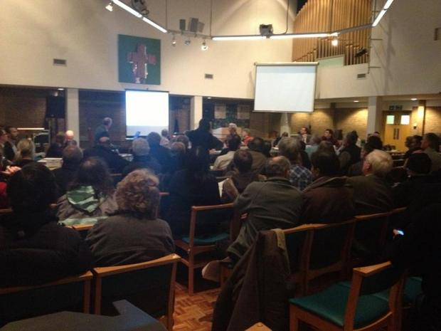 Notting Hill Housing presented their plans during a public meeting on Thursday evening