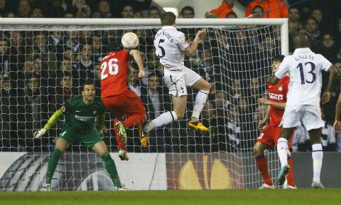A Jan Vertonghen header after the break secured a healthy advantage for the home side