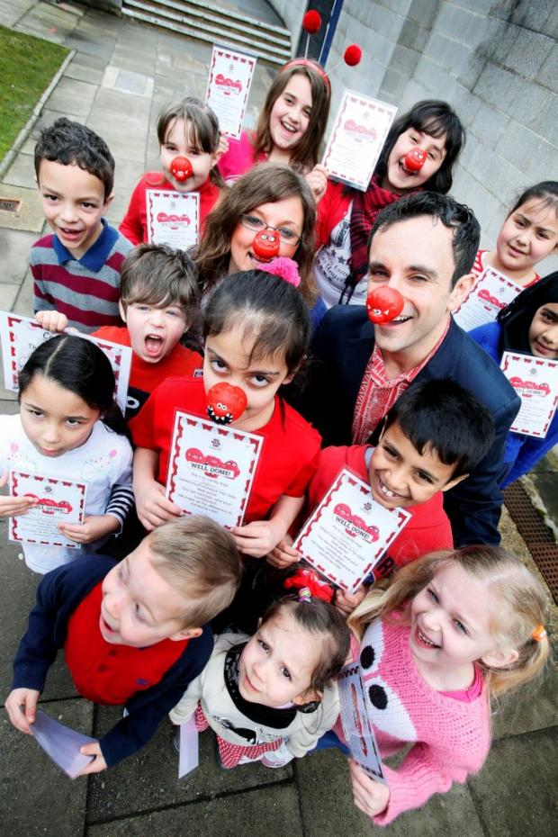 Pupils raise thousands for Comic Relief