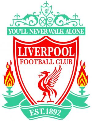 Enfield Independent: Football Team Logo for Liverpool