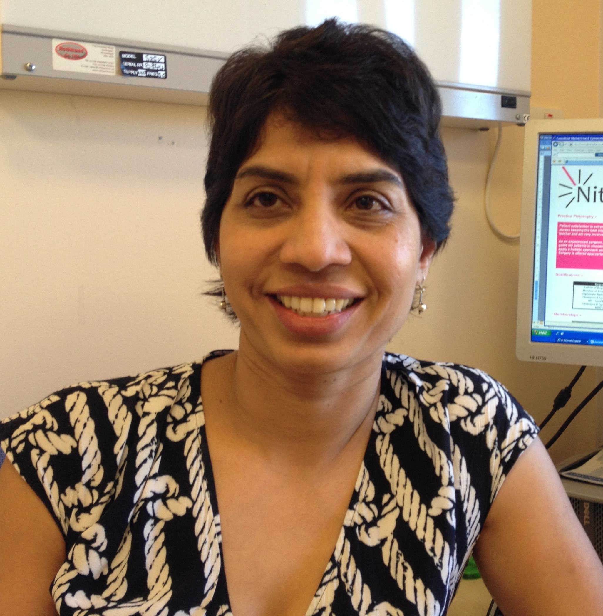 Nitu Bajekal works at an Enfield hospital