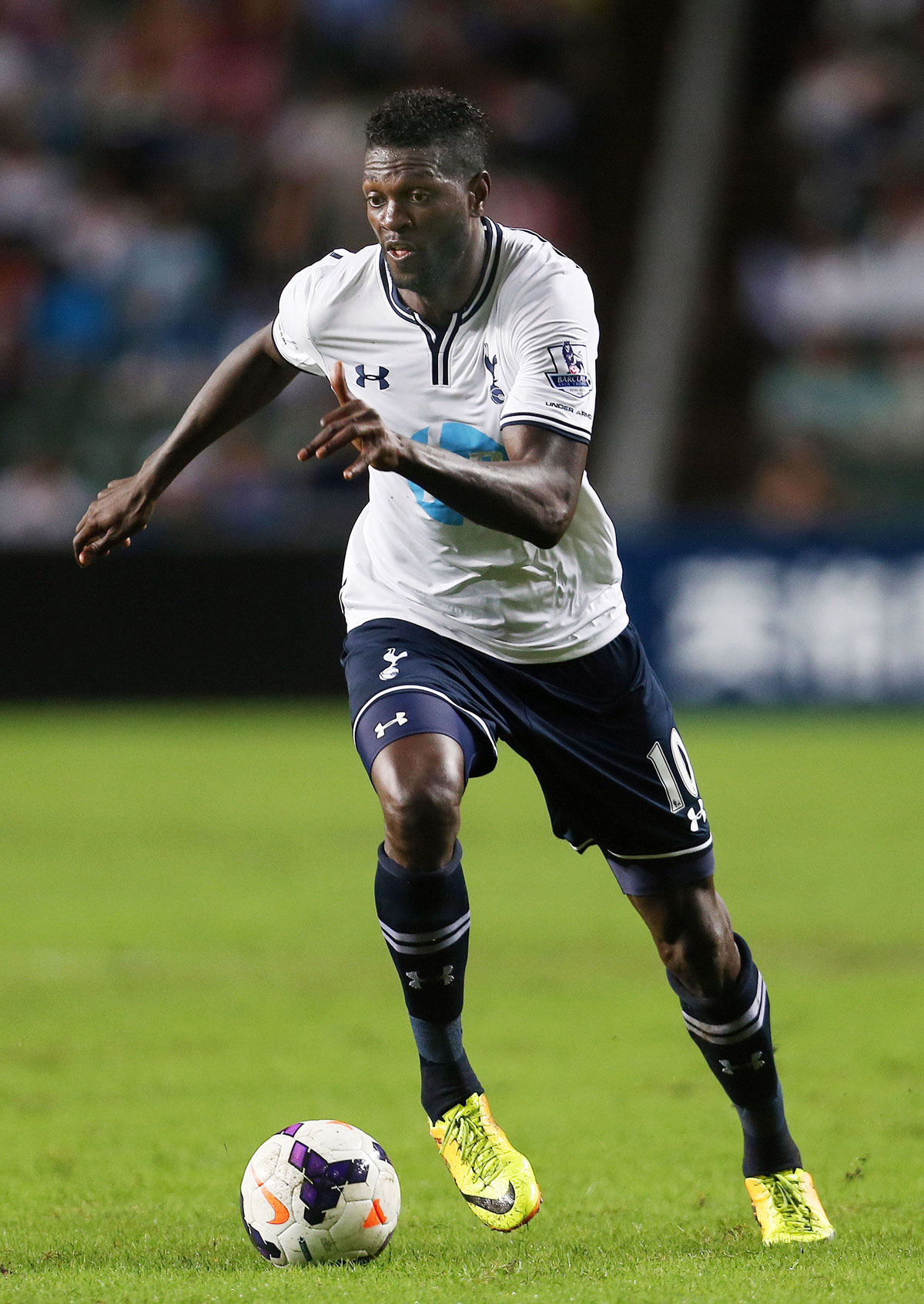 Emmanuel Adebayor is available for selection once more. Picture: Action Images