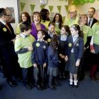 Enfield Independent: Esther Rantzen joined Michael Sobell Sinai school pupils and Islamia school pupils delivering mosaics to the Barnet Refugee Service