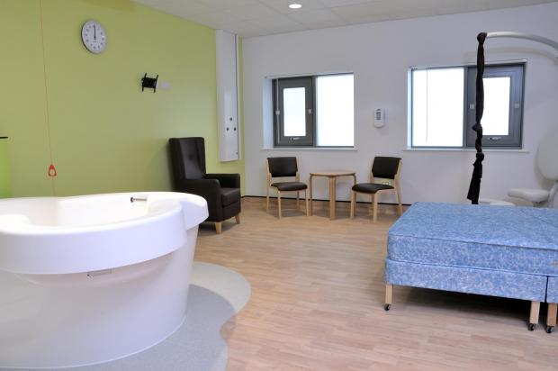 Expectant mothers can take a tour of the new maternity ward, which opened in November