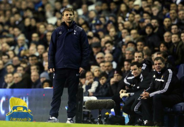 Tim Sherwood was 'gutted' his side could not grab a fourth goal to beat West Brom on Saturday. Picture: Action Images