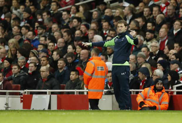 Tim Sherwood said his depleted squad had showed great character during the busy festive period