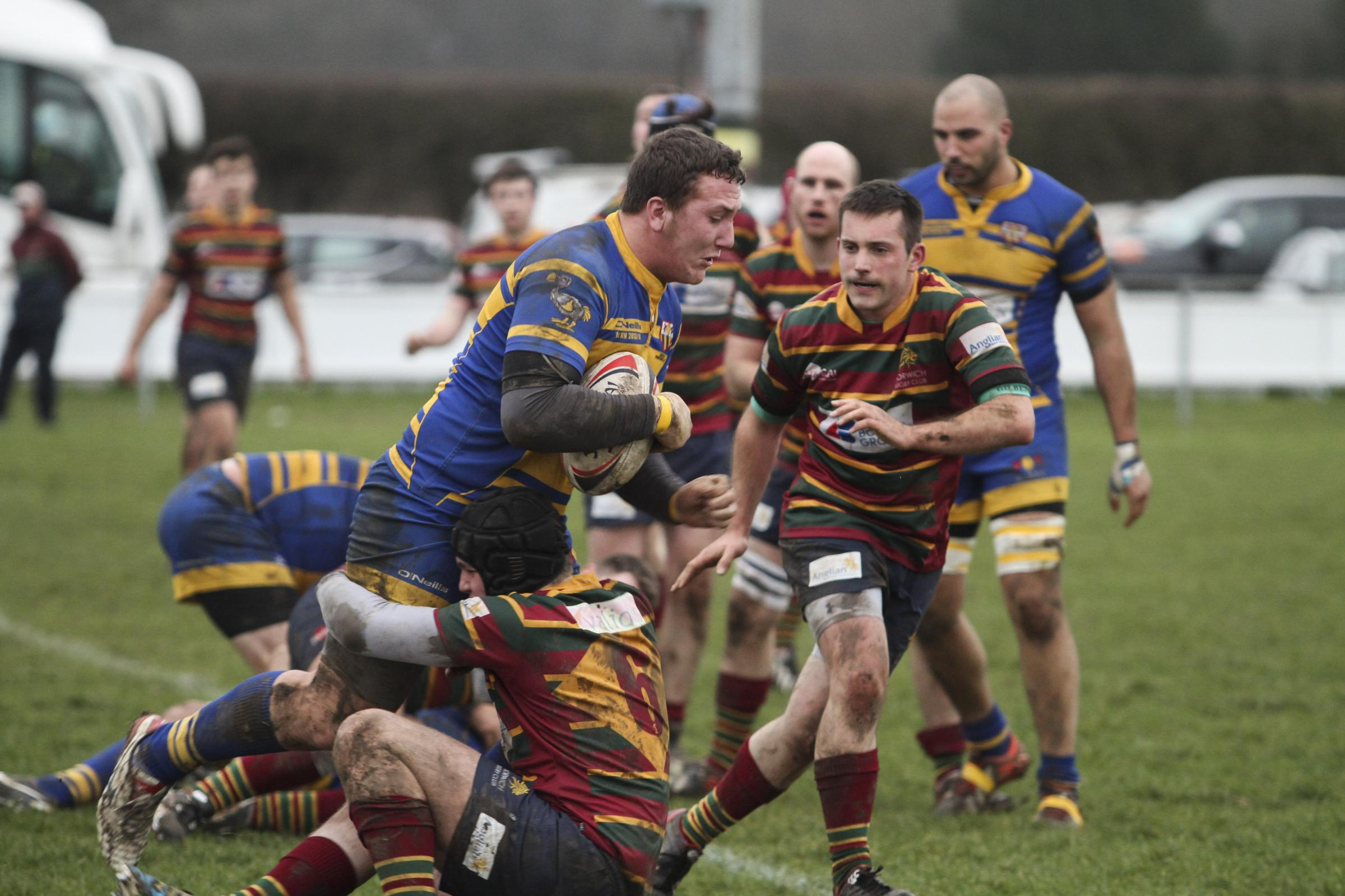 Ignatians proved too strong for Norwich Picture: Andy Micklethwaite