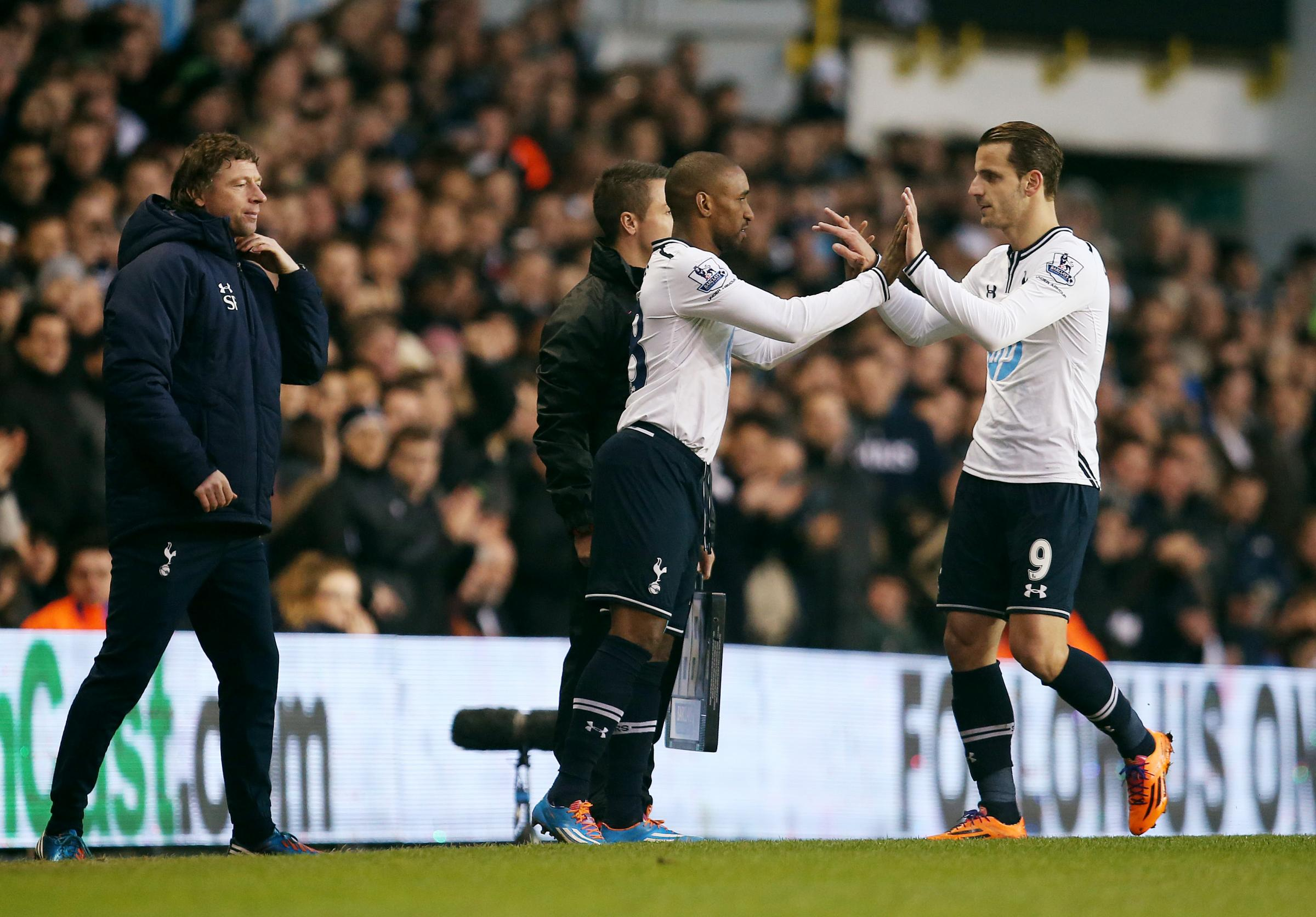 Jermain Defoe capped a solid second half performance for Spurs when he made it 2-0 after coming on for Roberto Soldado