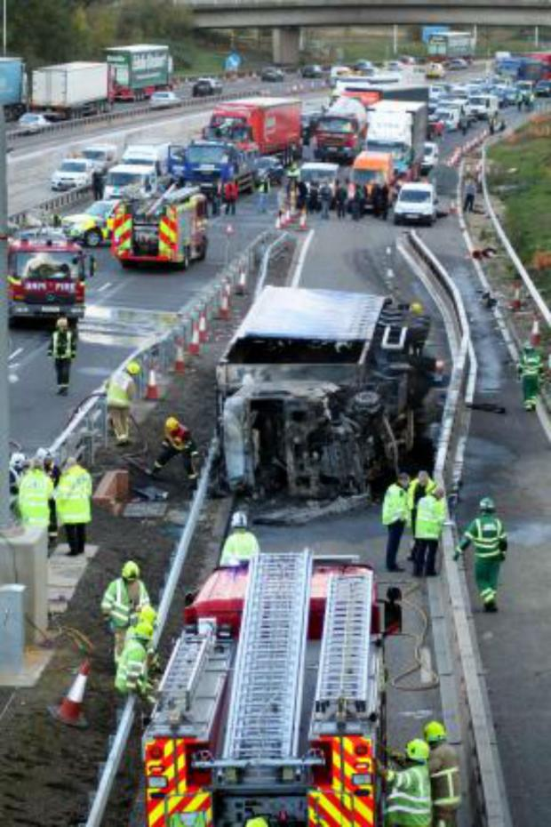 Enfield Independent: The crash on the M25 in late October claimed a man's life