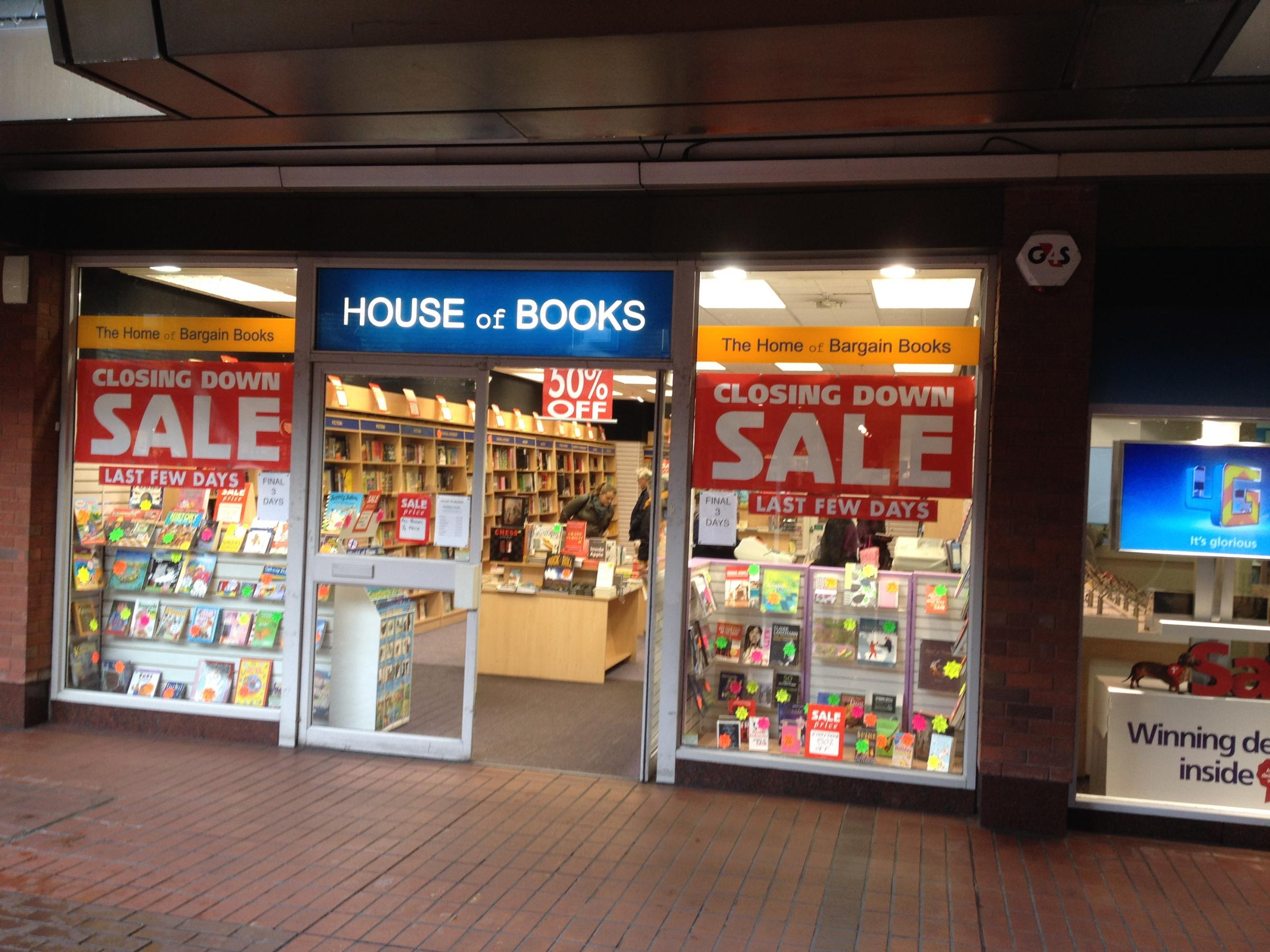 House of Books in Enfield