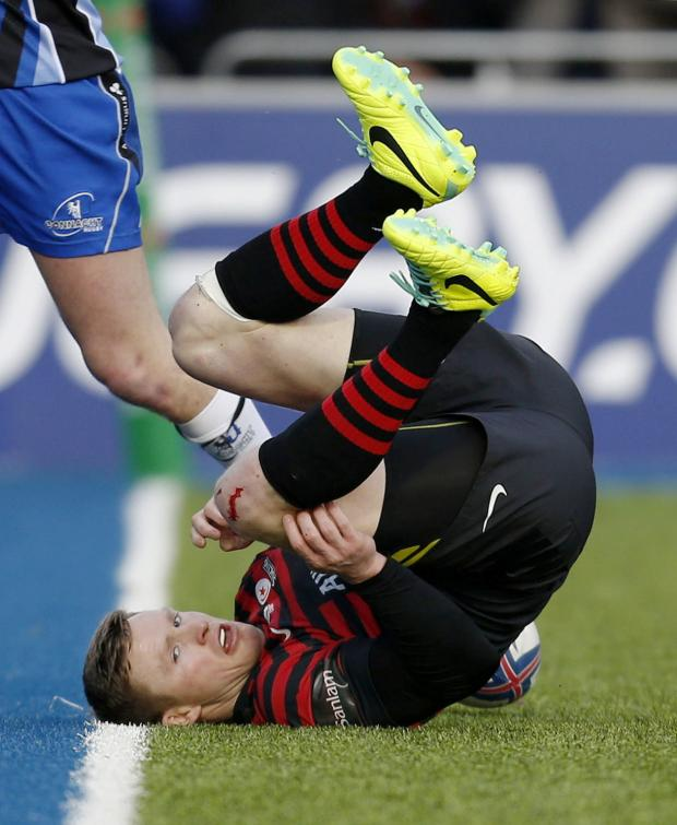 Enfield Independent: Chris Ashton. Picture: Action Images