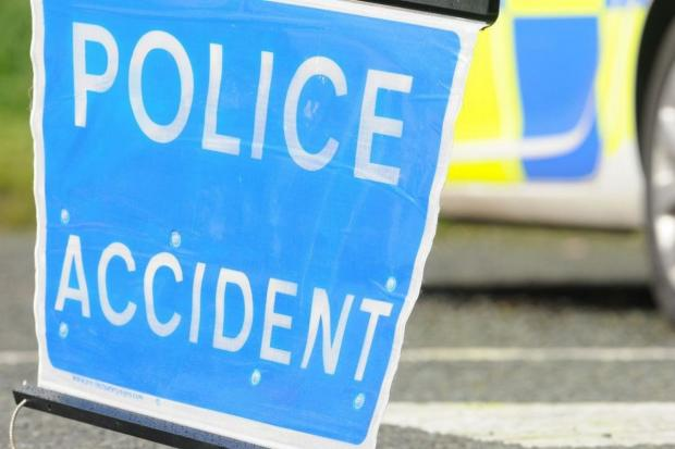 Enfield Road closes because of a crash