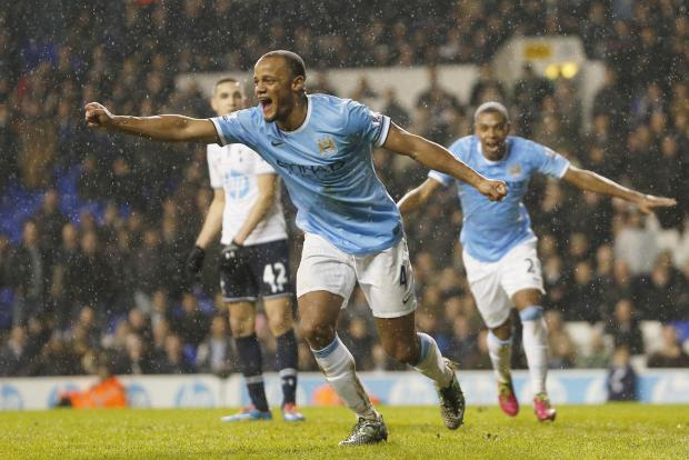 Vincent Kompany added a fifth late on to complete a miserable evening for