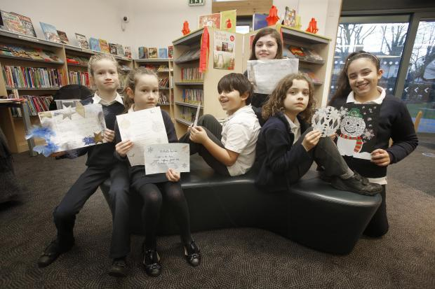 Pupils from George Spicer Primary School