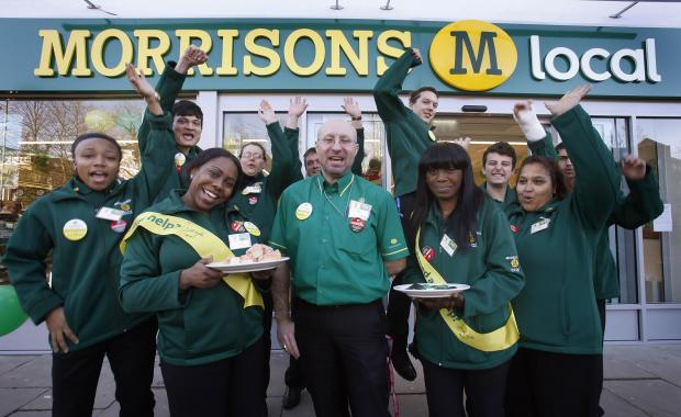 Morrisons workers
