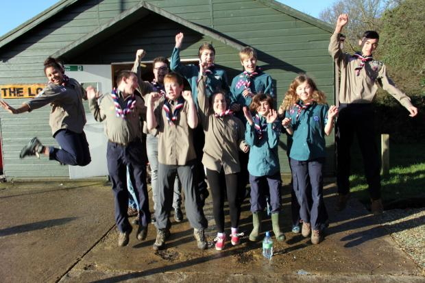 Enfield Independent: Jumping for Japan: 12 Enfield scouts selected for Far East venture
