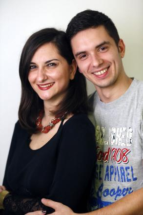 Darius Belu and his dance partner Andriana Armodorou