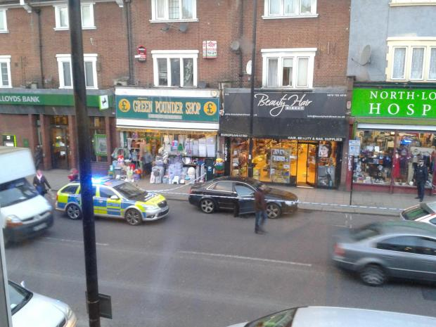 Enfield Independent: Picture tweeted by Christopher Menon
