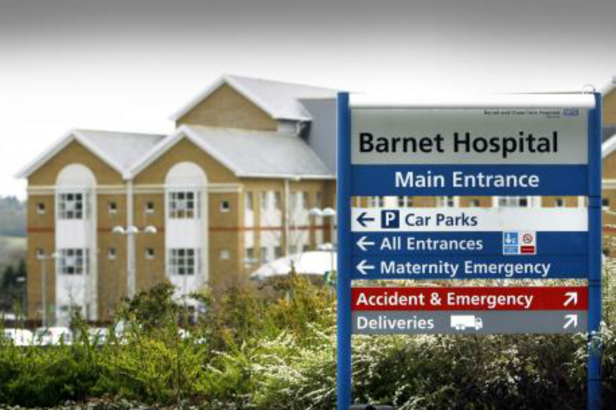 Barnet and Chase Farm Hospitals will now be run