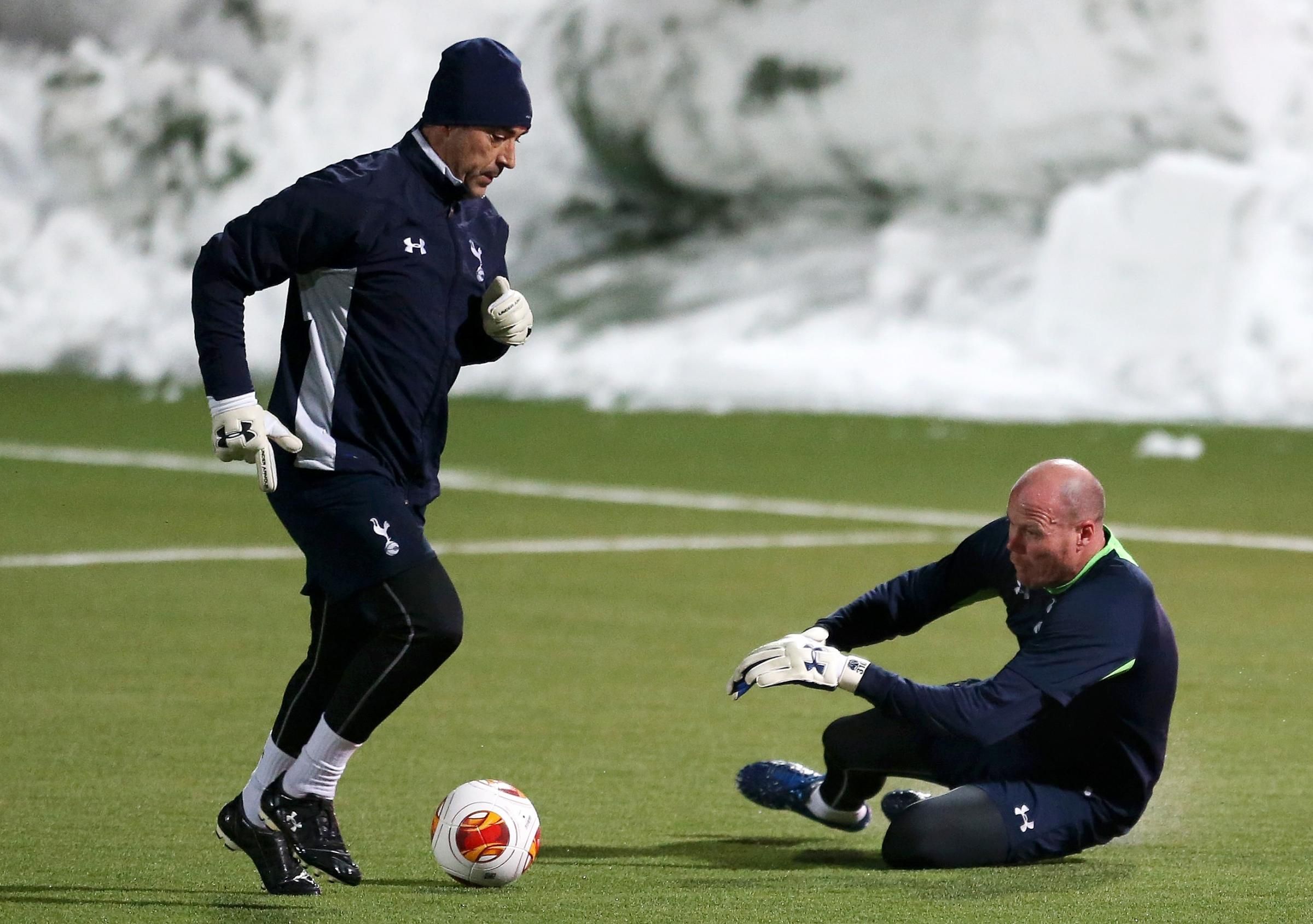 Brad Friedel has worked under three different managers since joining Spurs in 2011