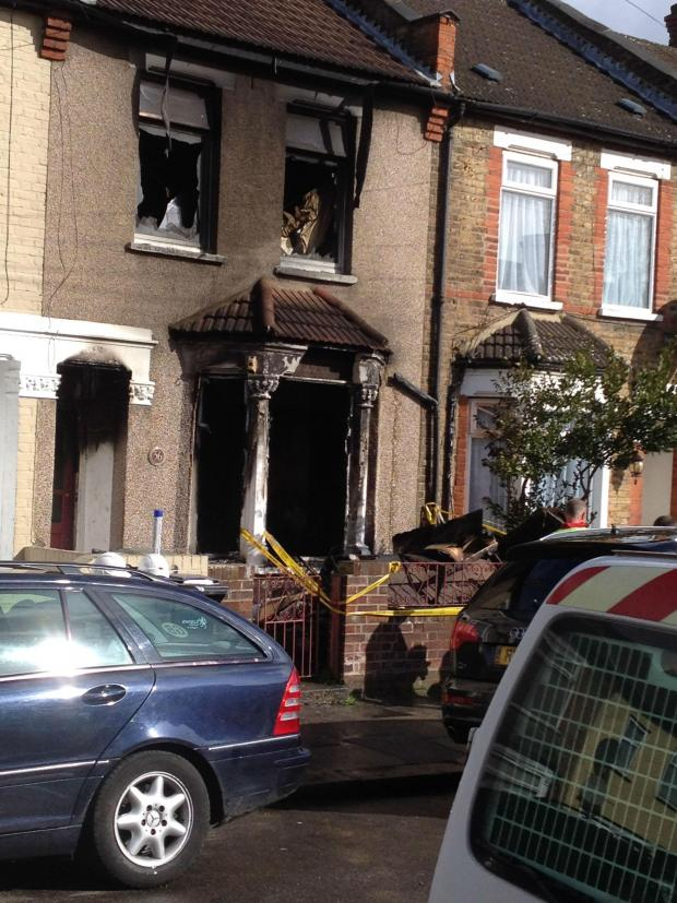 Enfield Independent: House fire in Forest Road, Edmonton