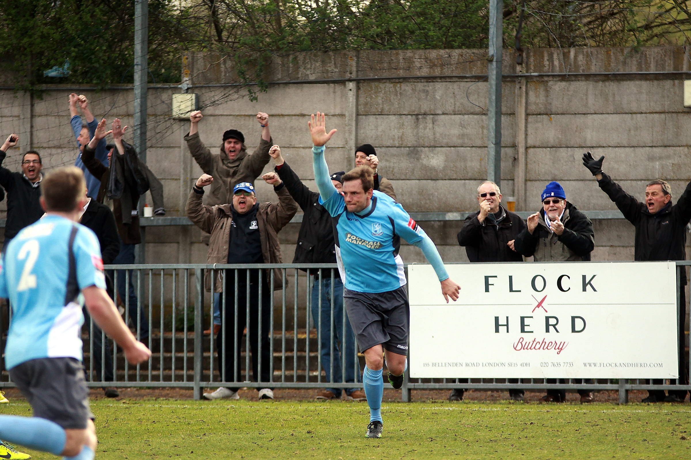 Jamie Richards scored the equaliser. Picture: Phil Davison
