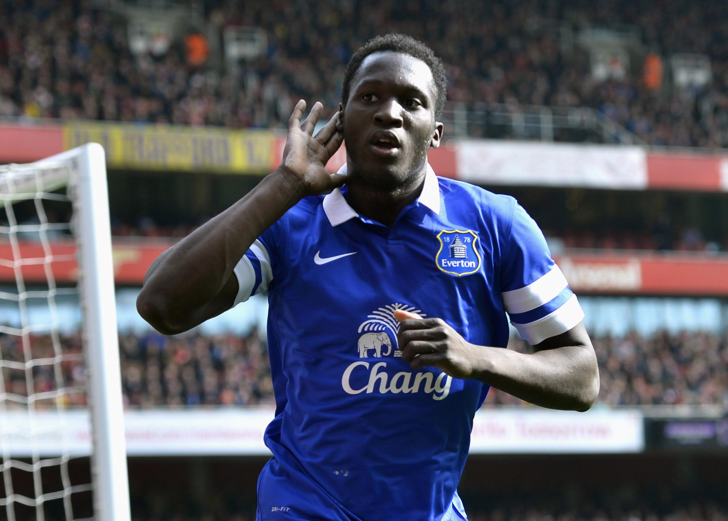 Romelu Lukaku's agent has made contact with Spurs chairman Daniel Levy. Picture: Action Images