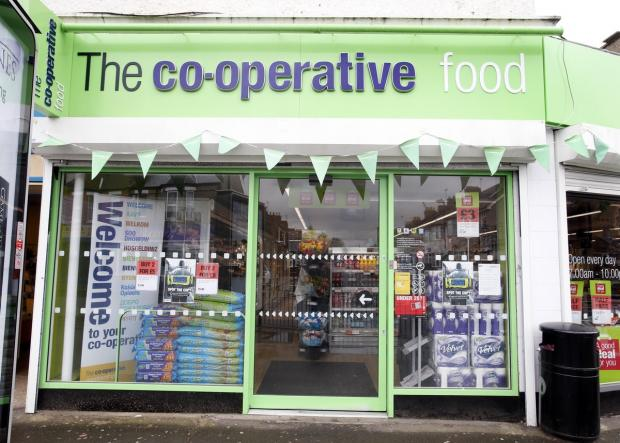 Enfield Independent: The Co-op store in Lancaster Road