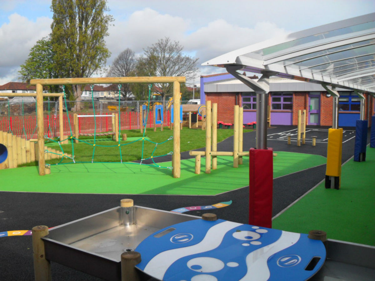Cuckoo Hall's new play space