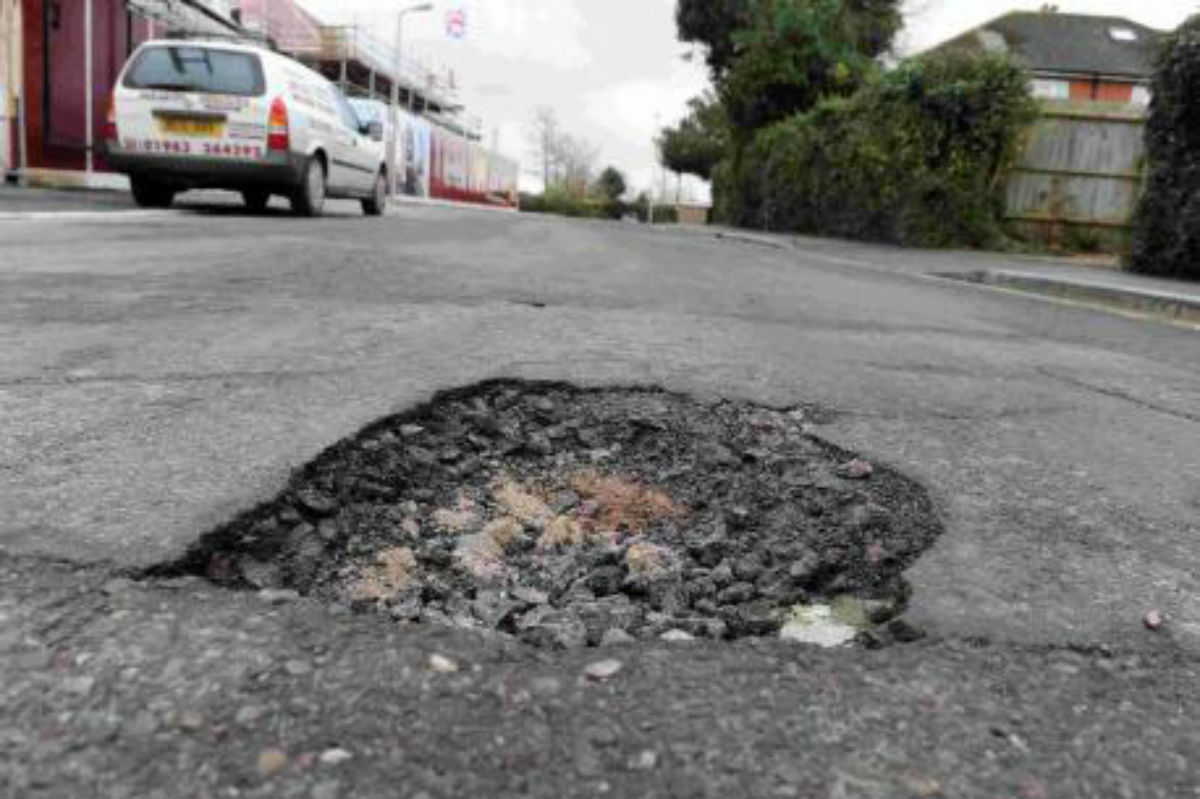 Enfield repaired the most potholes of any London borough in 2013