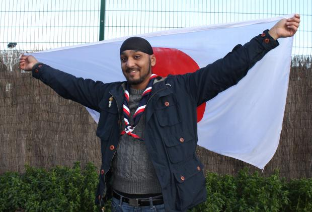 Inderjeet Singh Rathore or 'Sunny' will be an adult volunteer at the world jamboree in Japan