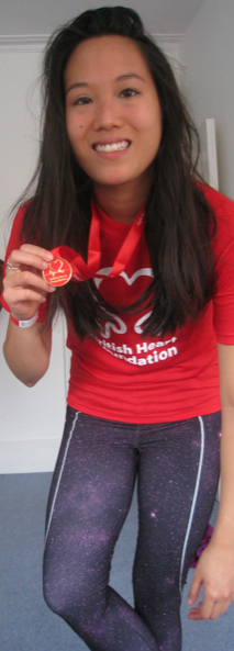 Lucy Chan BHF Hyde Park Run