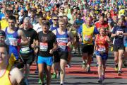 Hundreds get ready for London Marathon today